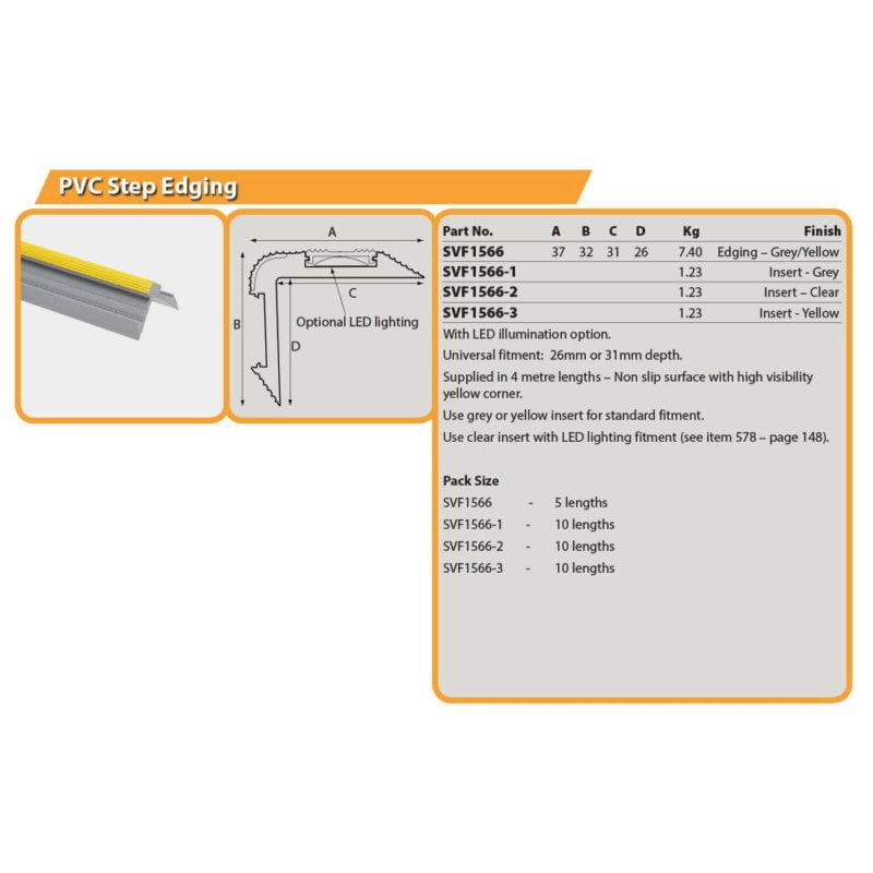 PVC Step Edging Drg