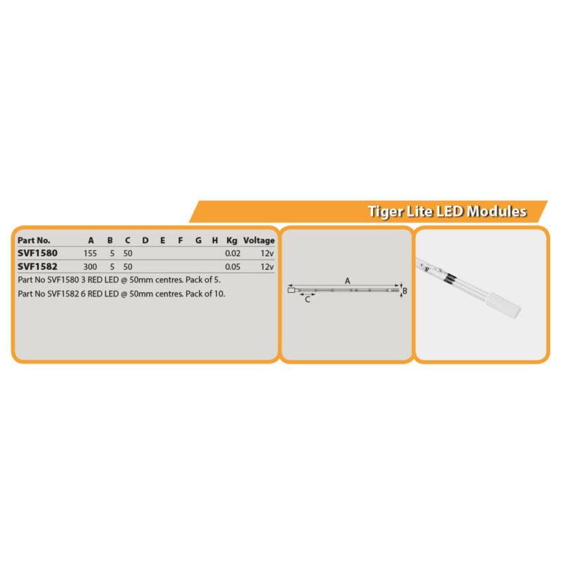 Tiger Lite LED Modules Drg