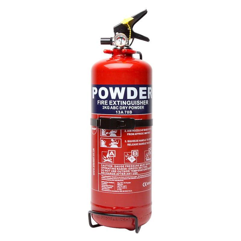 Fire Extinguishers- Dry Powder
