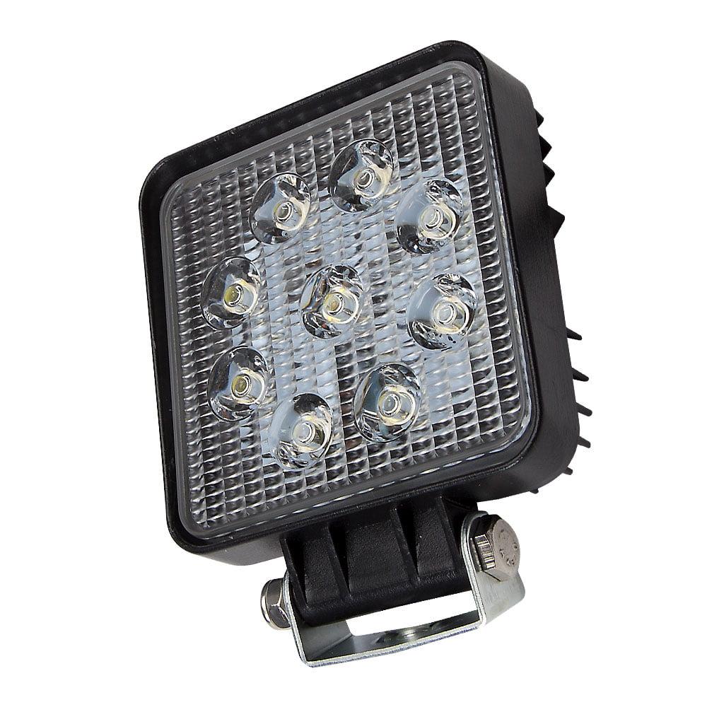 LED Square Work Lamp - 27 Watt