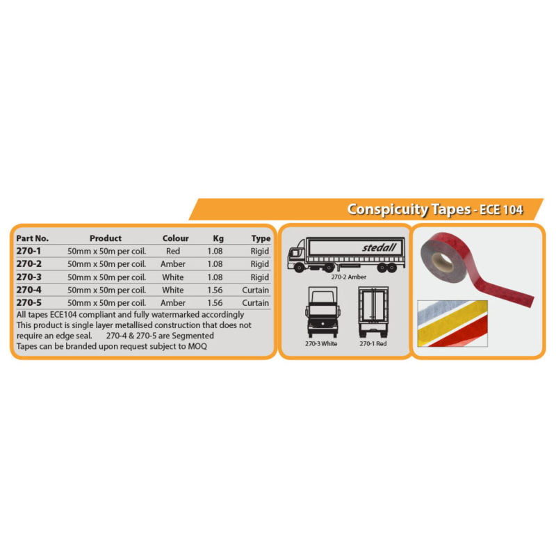 Conspicuity Tapes - ECE 104 Drg
