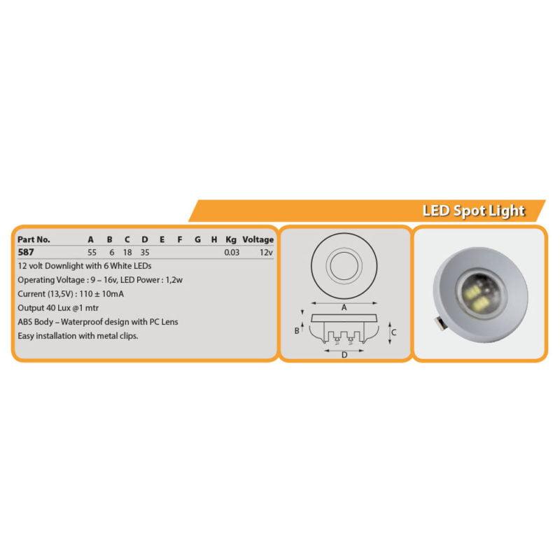 LED Spot Light Drg