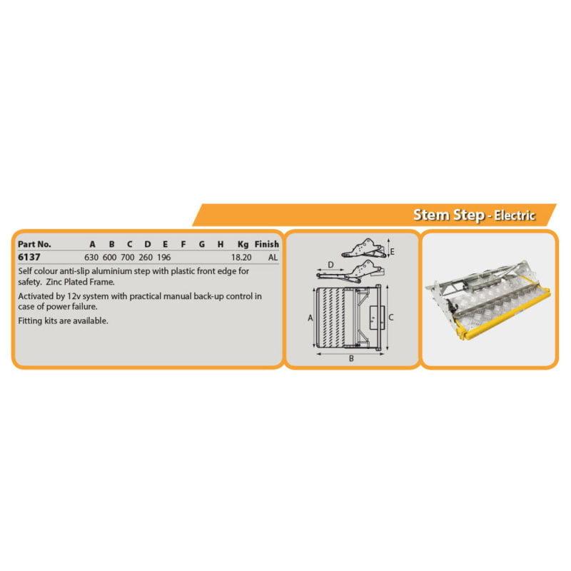Stem Step - Electric Drg