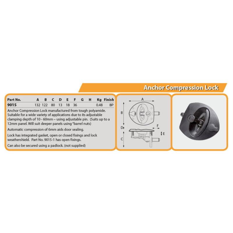 Anchor Compression Lock Drg