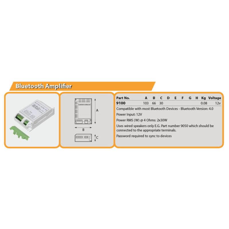 Bluetooth Amplifier Drg