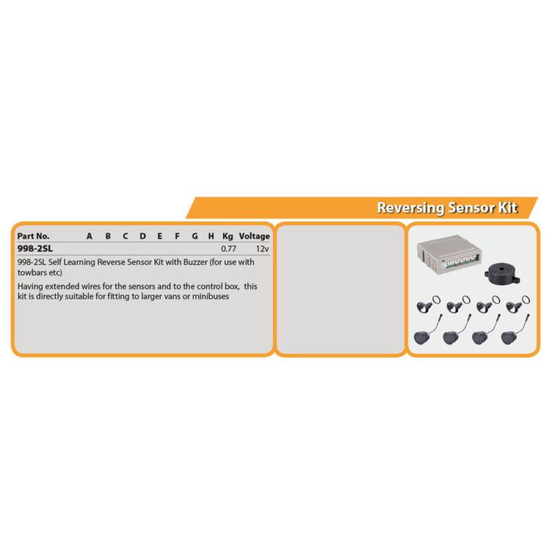 Reversing Sensor Kit Drg